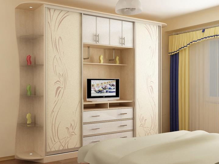 модели шкафов для спальни - фото 15